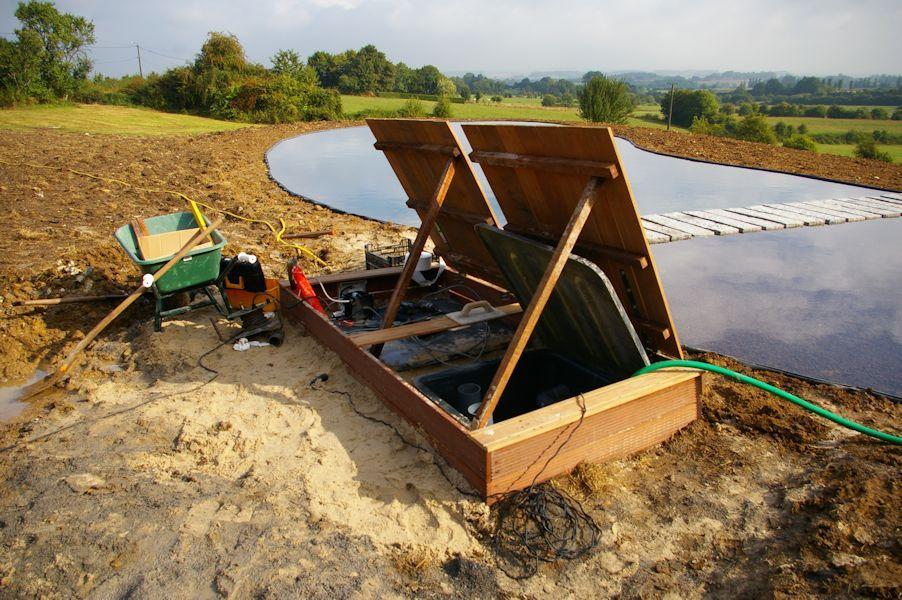 werkwijze zwemvijver aanleggen de watermolen